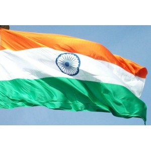 INDIA - BANDERA DE INDIA (COMPRAR) - 150 X 90 cm