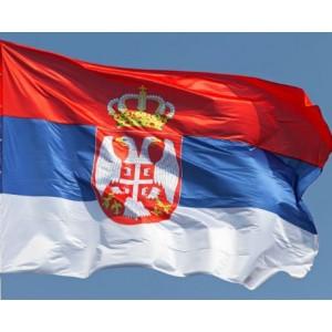 SERBIA - BANDERA DE SERBIA (COMPRAR) - 150 X 90 cm