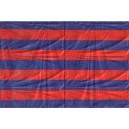 AZULGRANA- BANDERA AZULGRANA (COMPRAR) - 150 X 90 cm
