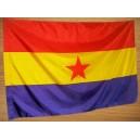 ESPAÑA REPUBLICANA - ESTRELLA- BANDERA REPUBLICANA (COMPRAR) - 150 X 90 cm